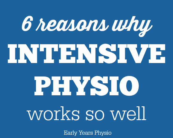 6 Reasons Why Intensive Blocks of Physiotherapy Work so Well