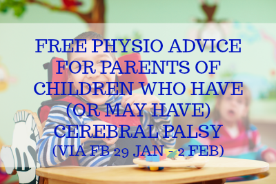 Online kids physio support for parents of children who have cerebral palsy